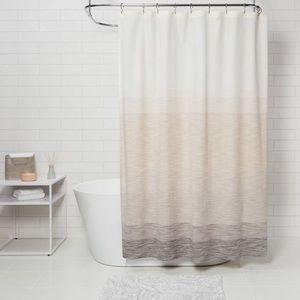 Spacedye Shower Curtain Beige/Ombre
